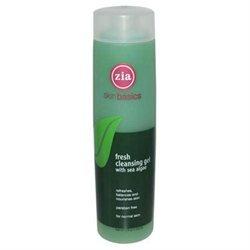 Zia Natural Skin Care 0545624 Skin Basics Cleansing Gel with Sea Algae - 8.3 oz