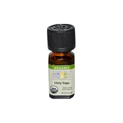 Frontier Natural Products Co-op 190811 Clary Sage, Essential Oil, ORGANIC, .25 oz. bottle