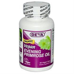 DEVA Vegan Vitamins Evening Primrose Oil 500 mg Caps