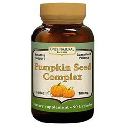 Only Natural Pumpkin Seed Complex - 90 Capsules