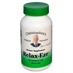 Dr Christophers Dr. Christopher's Original Formulas - Relax-Eze - 100 Vegetarian Capsules