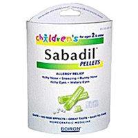 Frontier Children's Sabadil Pellets by Boiron - 2 Tubes