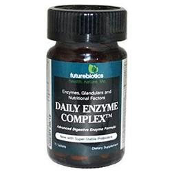 Futurebiotics 0649285 Daily Enzyme Complex - 75 Tablets