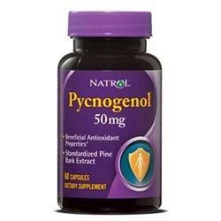 Natrol Pycnogenol 50 mg Dietary Supplement Capsules