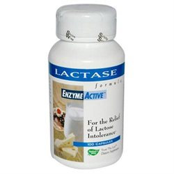 tures Way Nature's Way Lactase Formula, Enzyme Active 100 capsules