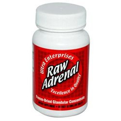 Ultra Glandulars 0439075 Raw Adrenal - 200 mg - 60 Tablets