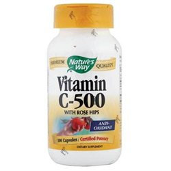 tures Way Vitamin C 500 with Rose Hips 100 caps from Nature's Way