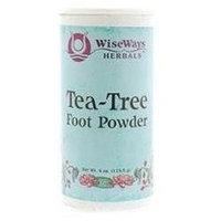WiseWays Herbals Tea Tree Foot Powder - 3 oz