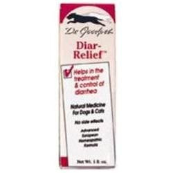 Frontier Dr. Goodpet Homeopathic Diar-Relief for Dogs and Cats