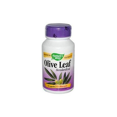 tures Way Nature's Way - Olive Leaf Standardized Extract - 60 Capsules