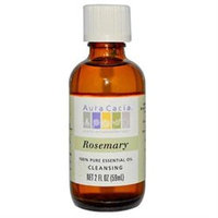 Aura Cacia 100% Pure Essential Oil Rosemary Cleansing 2 oz