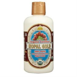 Organic Certified 100% Nopal Gold by Dynamic Health Laboratories - 32 oz.