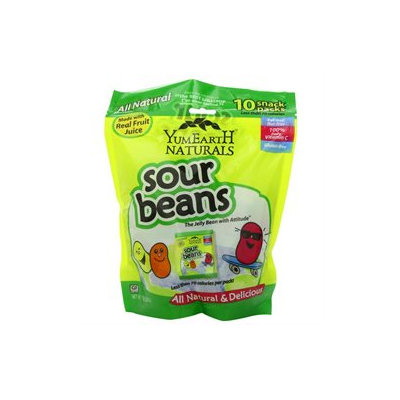 Yummy Earth Naturals Sour Jelly Beans Snack Packs s