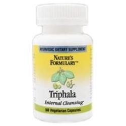 tures Formulary Triphala, 60 Veggie Caps, Nature's Formulary