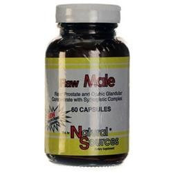 Raw Male, 60 Capsules, Natural Sources