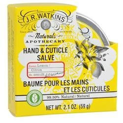 J.R. Watkins Hand & Cuticle Salve - Lemon