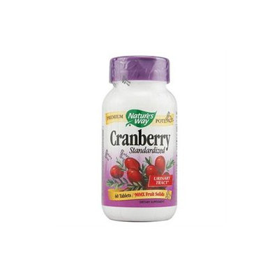 tures Way Cranberry Standardized Extract by Nature's Way - 60 Tablets