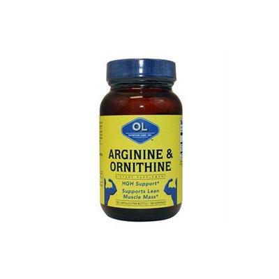 Olympian Labs Arginine and Ornithine - 100 Vegetarian Capsules