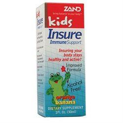 Zand Kids Insure Immune Support Orange Banana - 1 fl oz