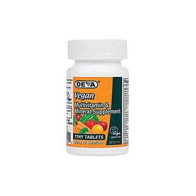 Deva Nutrition - Vegan Multivitamin & Mineral Supplement Tiny Tablets - 90 Tablets