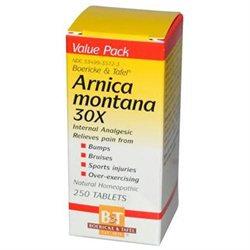 Boericke & Tafel Arnica Montana 30X - 250 Tablets