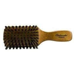Ambassador Hairbrushes Pure Natural Boar Bristle Brush Menapos;s Beechwood 219876