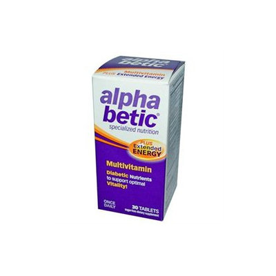 Frontier Alpha Betic Multivitamin Plus Extended Energy 30 tablets