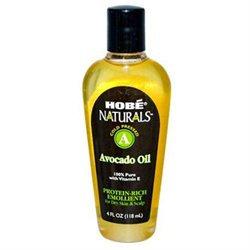 Hobe Laboratories 0754317 Hobe Naturals Avocado Oil - 4 fl oz
