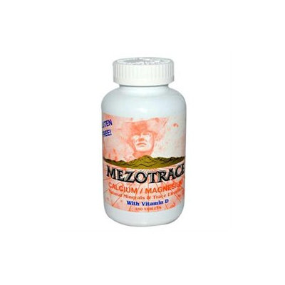 Mezotrace Calcium/Magnesium Natural Minerals with Vitamin D, 180 Tablets