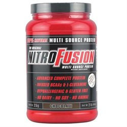 Nitro Fusion Chocolate Chocolate 2 lb by Plant Fusion (Nitro Fusion)