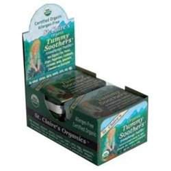 St Claires Organics St. Claire's Organics - Organic Tummy Soothers Aromatherapy Pastilles - 1.44 oz.