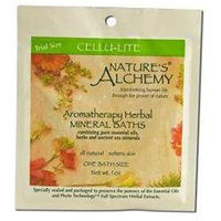 tures Alchemy Aromatherapy Herbal Mineral Baths, Cellu-Lite, 1 oz, Nature's Alchemy