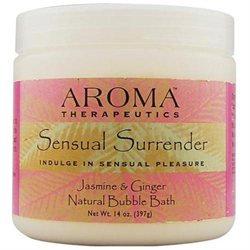 Abra Therapeutics Sensual Surrender Bubble Bath Jasmine and Ginger - 14 oz