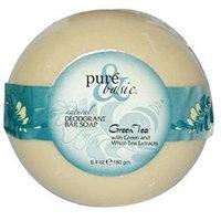 Pure & Basic - Natural Deodorant Bar Soap Green Tea - 6.4 oz.