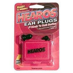 Hearos Ear Plugs Rock 'n Roll Series - 1 Pair