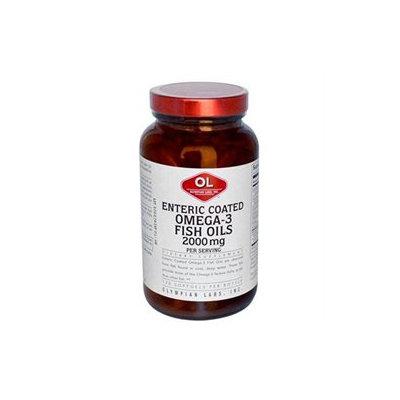 Olympian Labs Enteric Coated Omega-3 Fish Oils Softgels