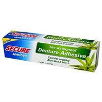 Secure Sensitive Denture Adhesive, 1.4 oz