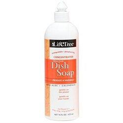 Citrus Fresh Dish Soap, 16 oz, LifeTree Household Cleaning (Life Tree)