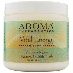 ABRA Therapeutics, Aroma Therapeutics Vital Energy Bubble Bath Verbena & Lime 14 oz