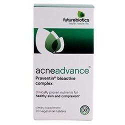 Futurebiotics - AcneAdvance Praventin Bioactive Complex - 90 Vegetarian Tablets