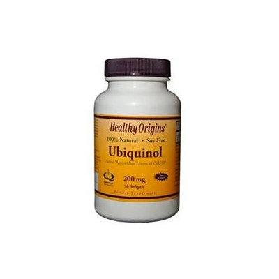 Healthy Origins - Ubiquinol Kaneka QH 200 mg. - 30 Softgels