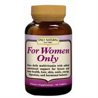 Only Natural For Women Only Formula - 60 Tablets