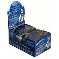 St Claires St Claire's Organic Throat Smoother Display Case Case of 6 1.38 oz