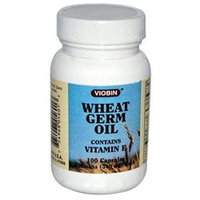 Viobin Corporation Wheat Germ Oil 340 MG - 100 Capsules - Other Green / Super Foods