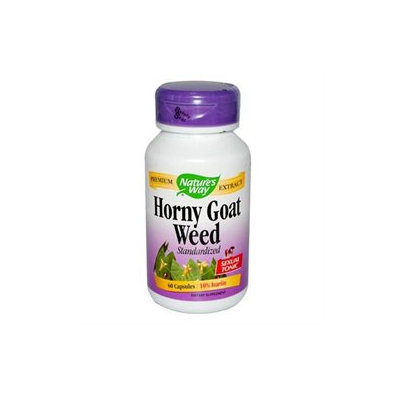 tures Way Nature's Way Horny Goat Weed Standardized - 60 Capsules