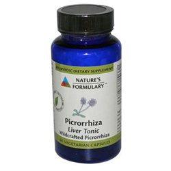 tures Formulary Nature's Formulary - Picrorrhiza - 60 Vegetarian Capsules