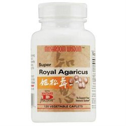 Mushroom Wisdom Super Royal Agaricus - 120 Caplets