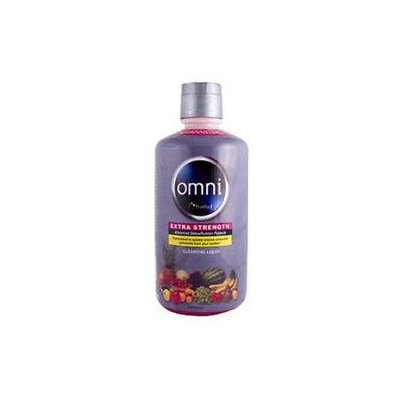 Omni Cleansing Liquid, Extra Strength - Fruit Punch, 32 oz, Heaven Sent Naturals