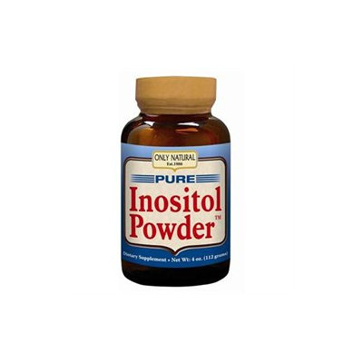 Only Natural Pure Inositol Powder 4 oz
