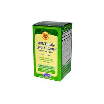 tures Secret Nature's Secret - Milk Thistle Liver Cleanse - 60 Tablets